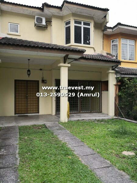 UKAY PERDANA, DOUBLE STOREY TERRACE FOR RENT [PARTIALLY FURNISHED]