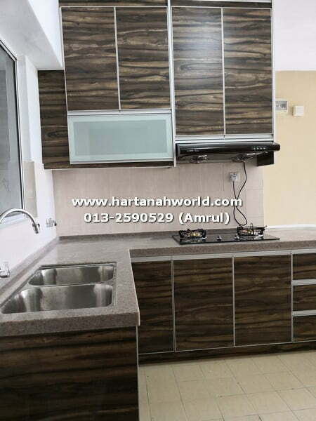 CHERAS, WARISAN CITYVIEW CONDOMINIUM TO LET (PARTIALLY FURNISHED)