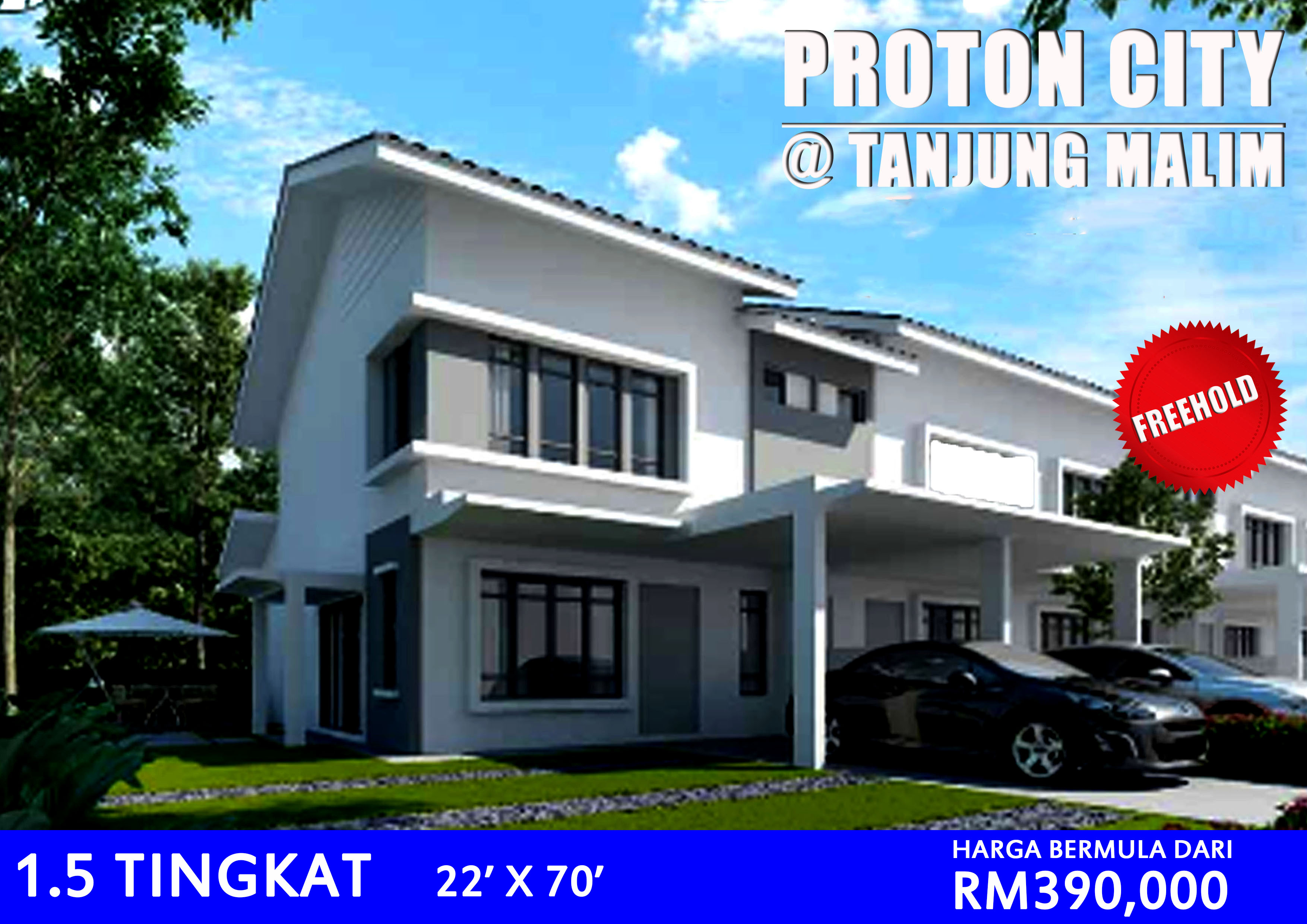 Proton City 1.5 Storey Link Homes