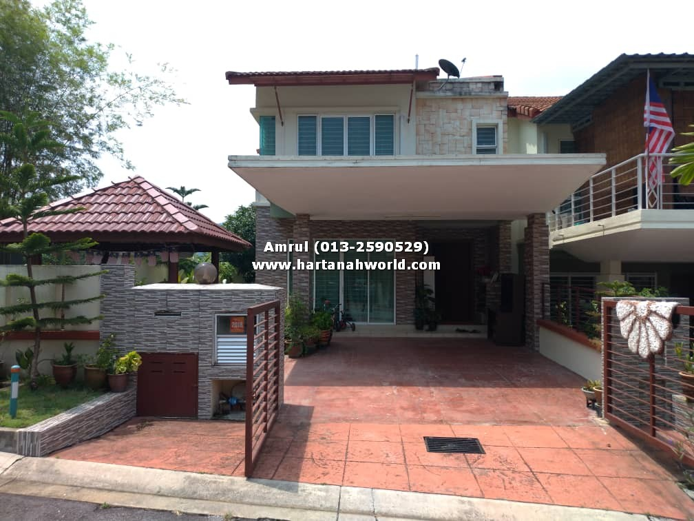 2.5 STOREY ENDLOT TAMAN SERING UKAY WITH EXTRA LAND 10 FEET FOR SALE