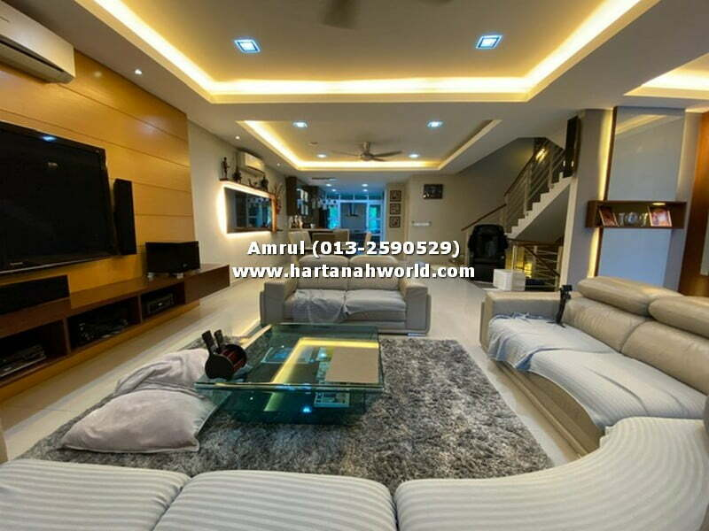 2.5 STOREY TERRACE SUPERLINK SERING UKAY, AMPANG FOR SALE